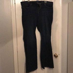 New York and Company Soho Flare Jeans